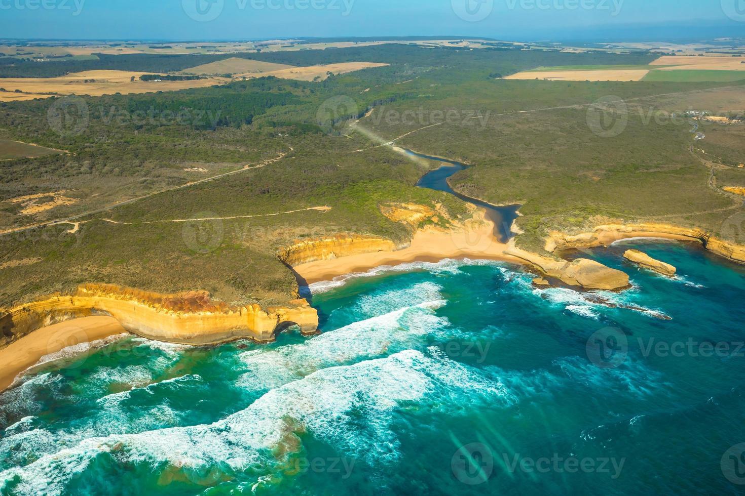 Victoria Coast Hubschrauber foto