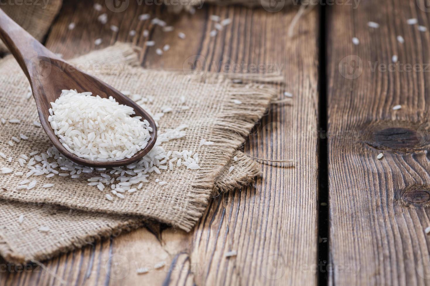 Haufen Reis foto