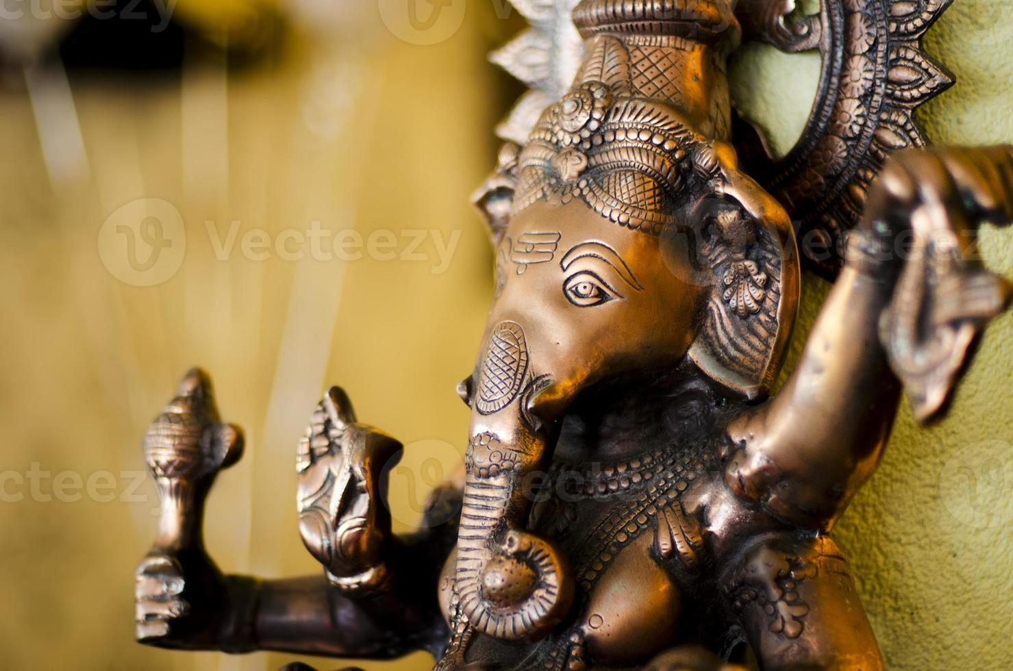 Ganeshas Blick foto