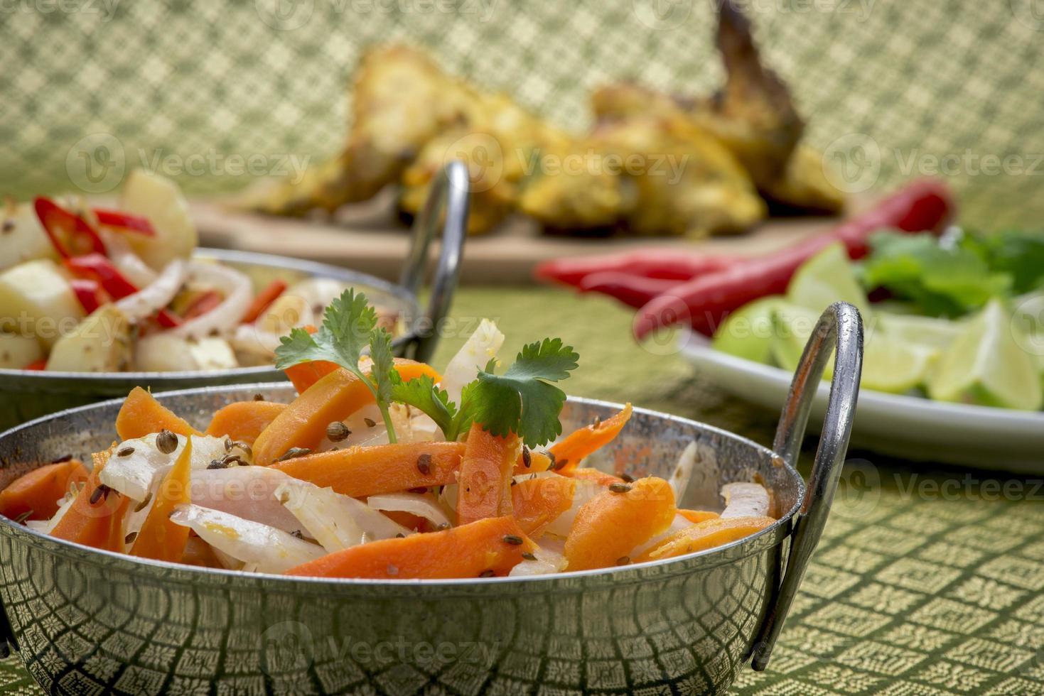 indisches Huhn foto