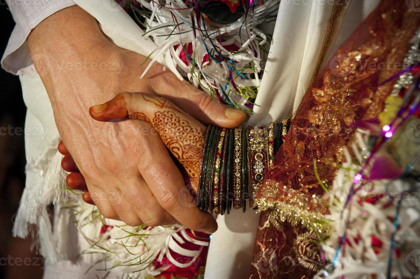 indische Hochzeit foto