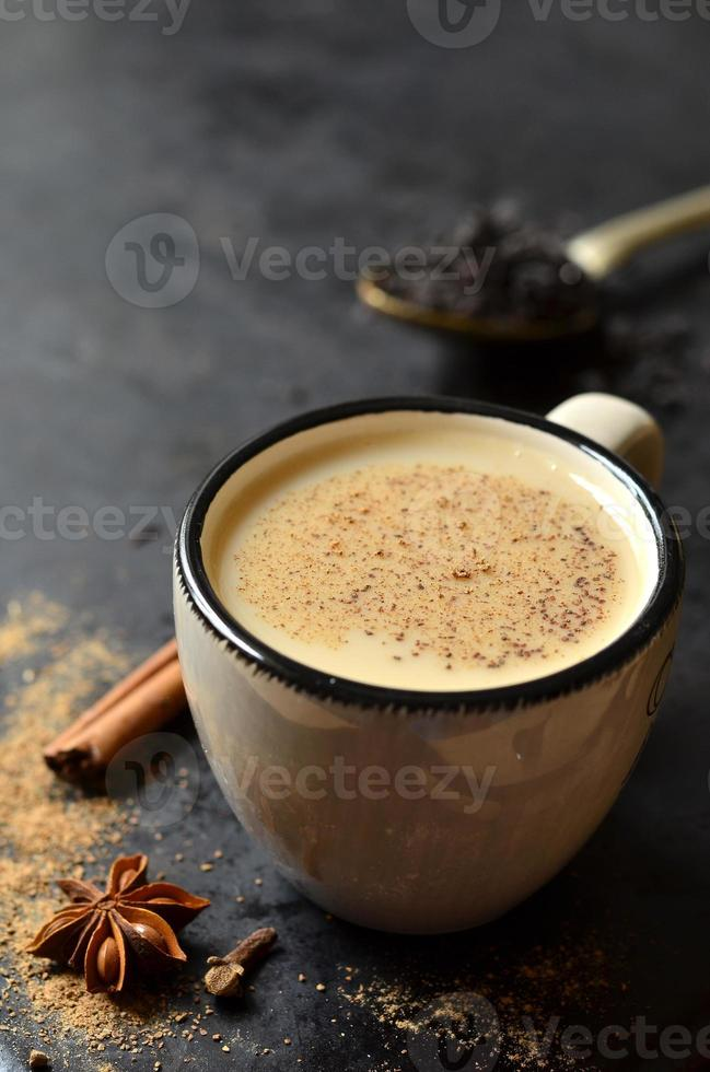 indischer Tee masala. foto
