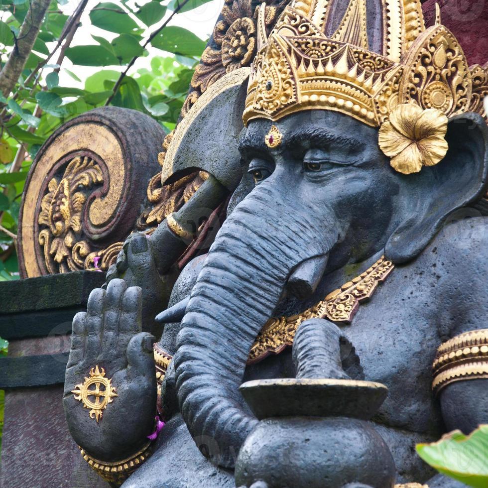 Statue von Ganesh foto