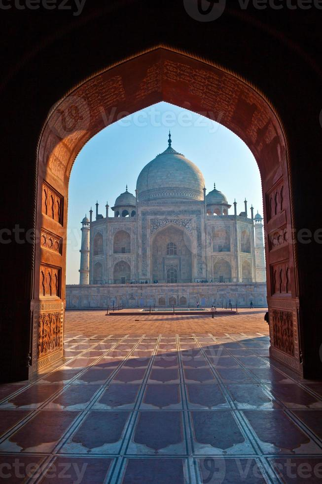 Taj Mahal in Indien foto