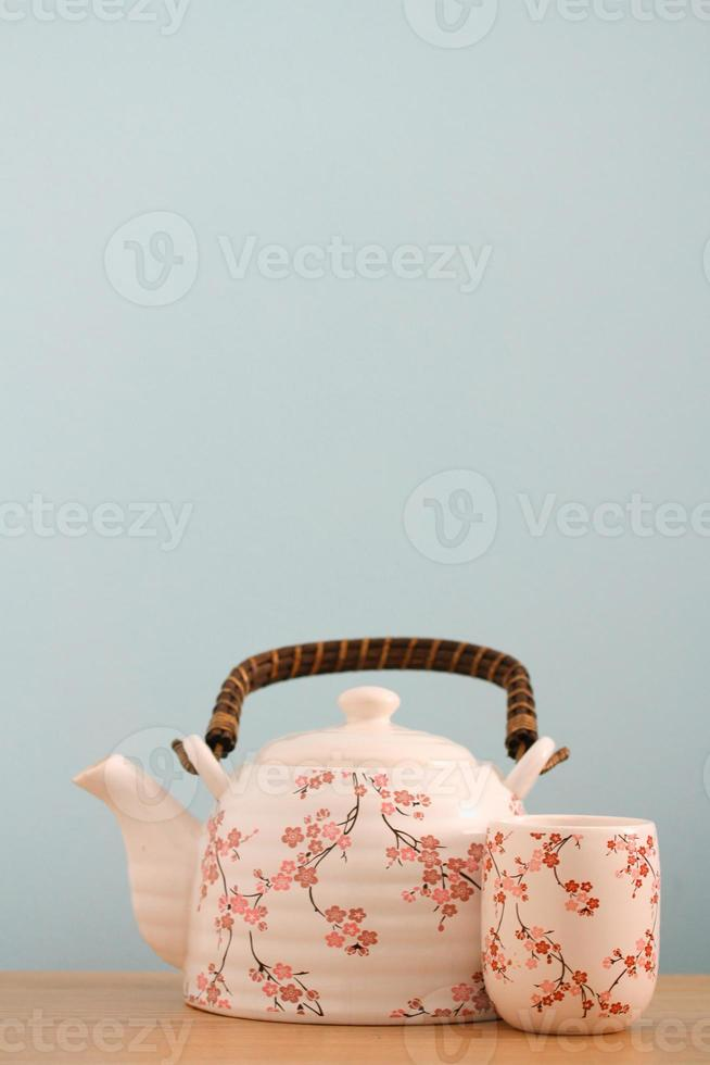 Teekanne Hintergrund foto