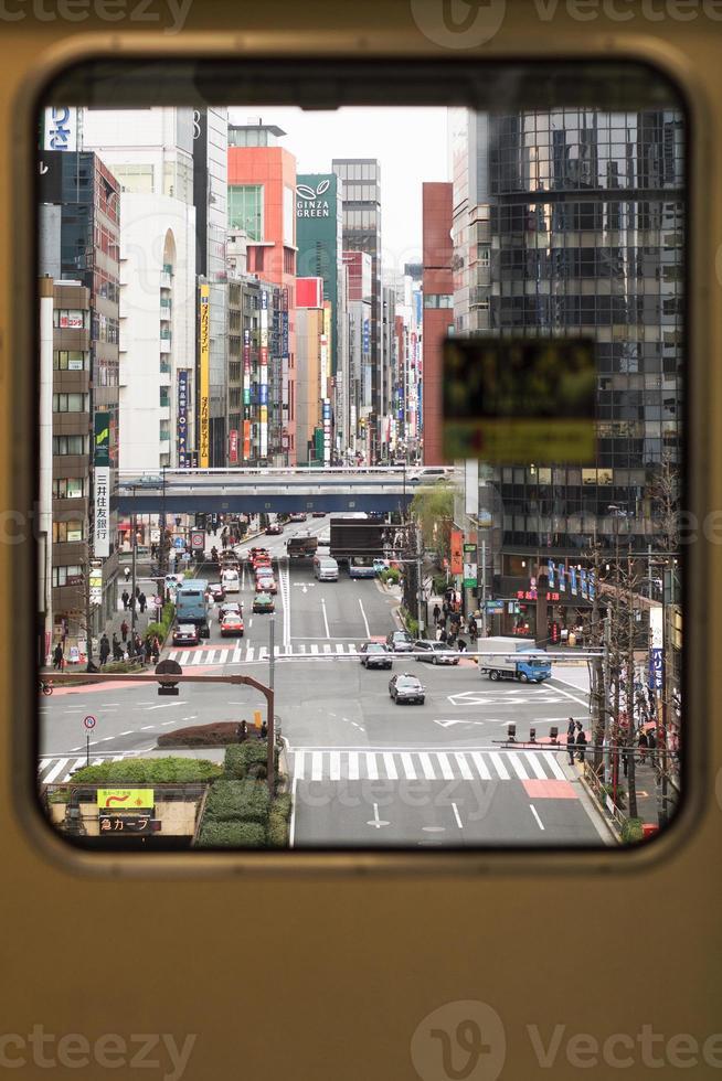 der Blick in die Stadt foto