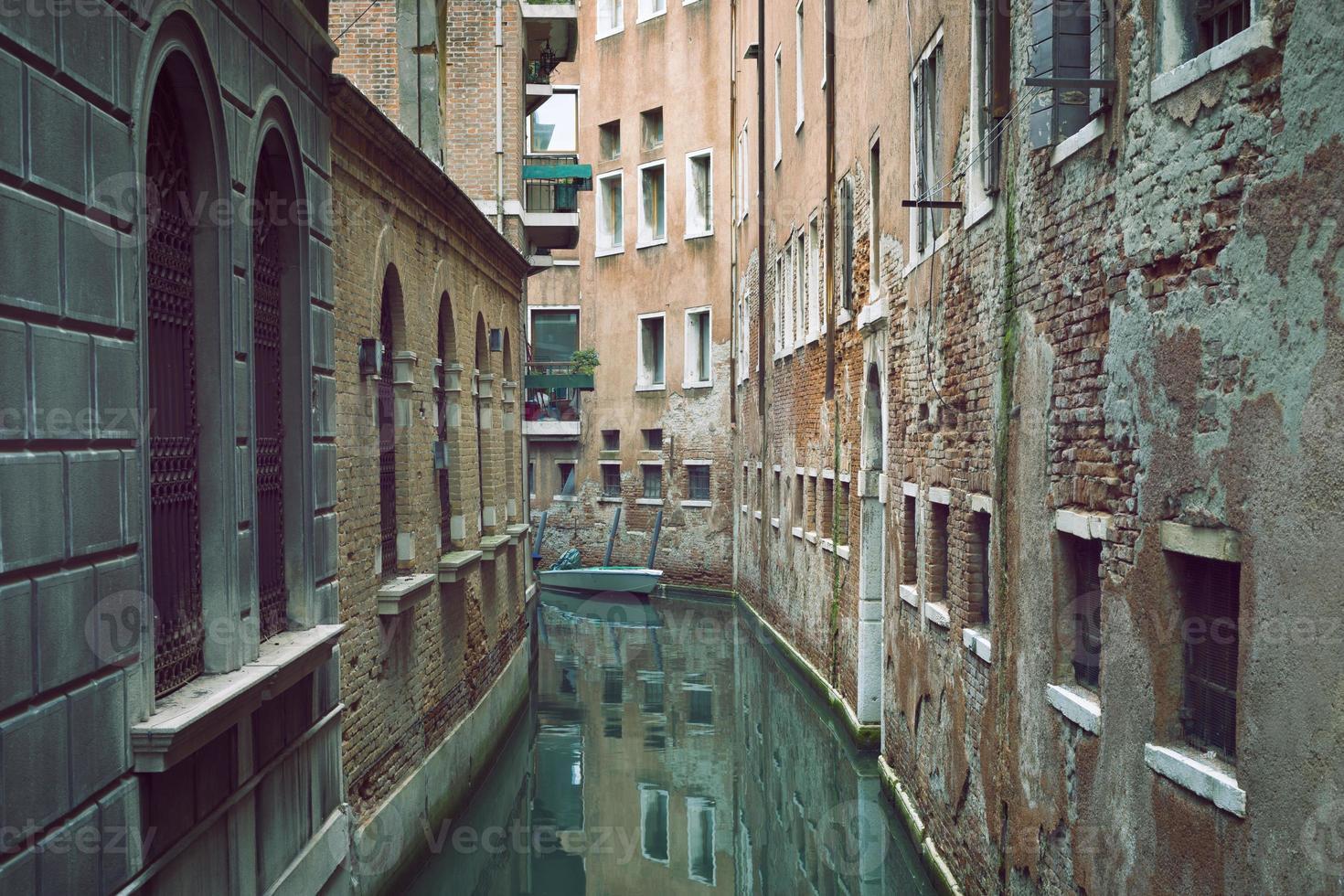 Venedig schmaler Kanal foto