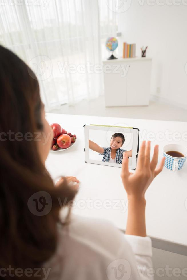 Videoanruf foto