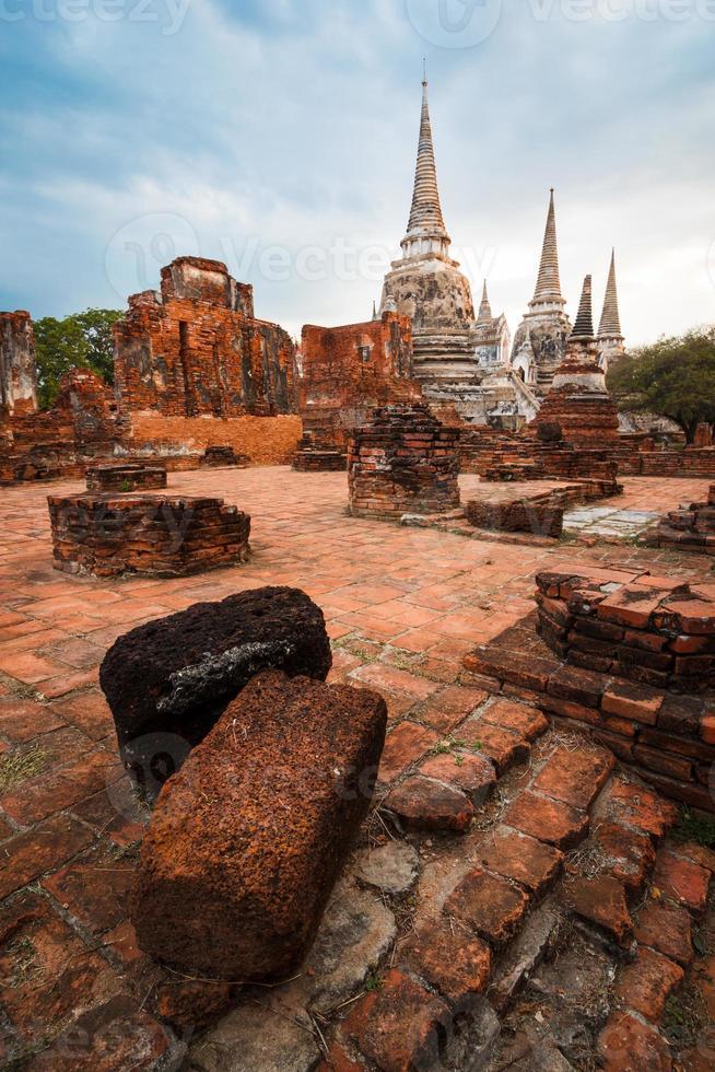 thailändische alte Ruine foto
