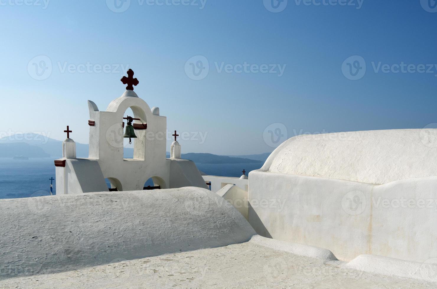 Kirche in Thira. foto