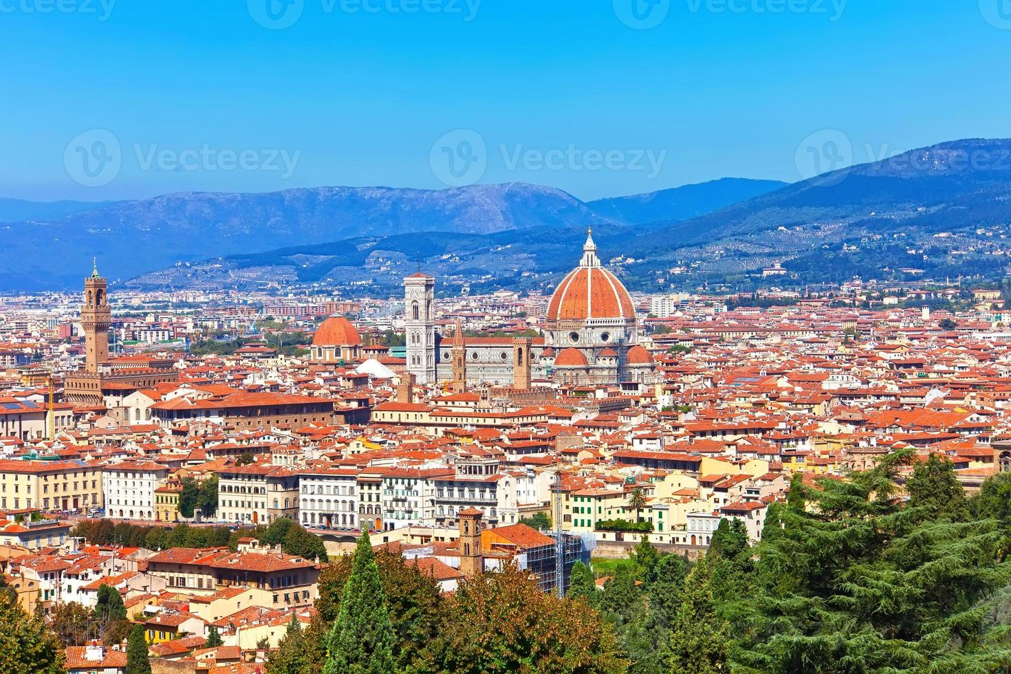 Florenz Stadtbild foto