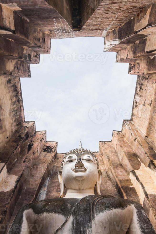 großes Buddha-Bild foto
