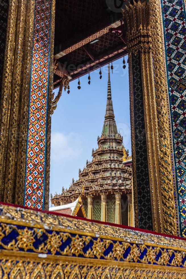 Schönheit von Wat Phra Kaew foto