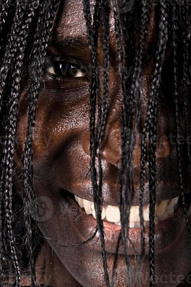 Porträt afrikanische Frau foto