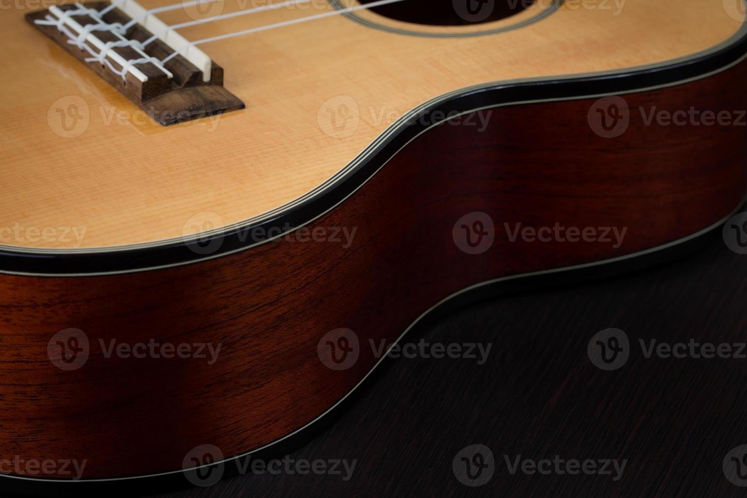 Ukulele hawaiianische Gitarre foto