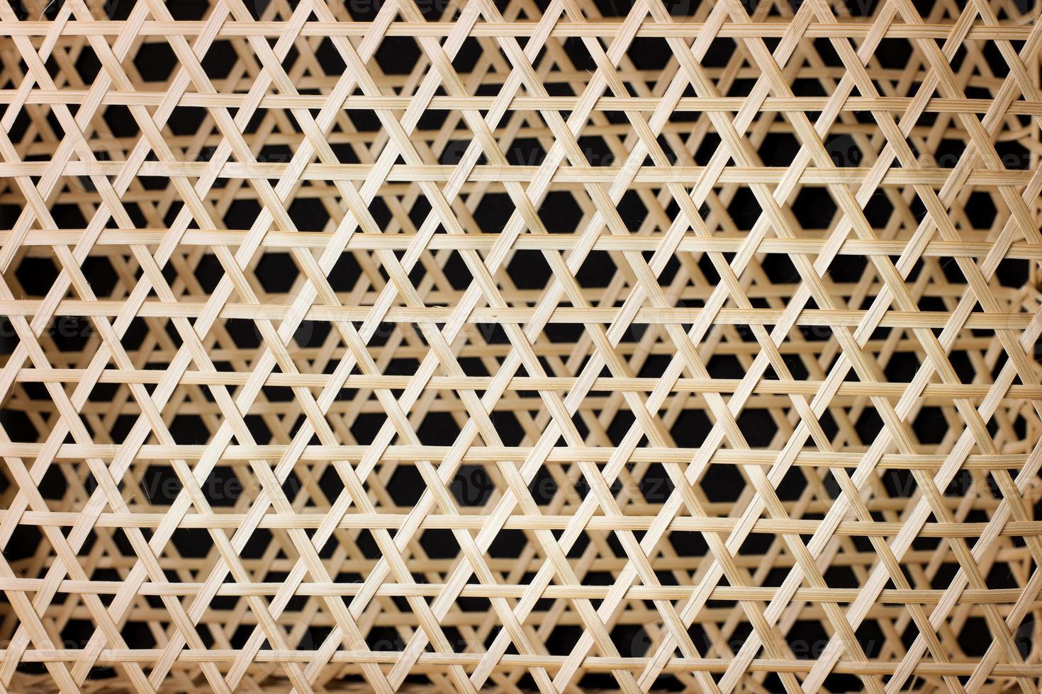 Weidenkorb Matte Textur Thai handgemacht traditionell foto