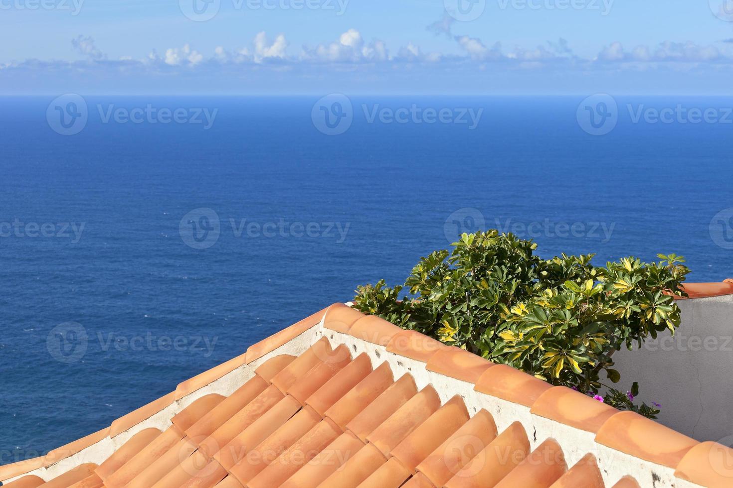 Blick auf den Atlantik foto