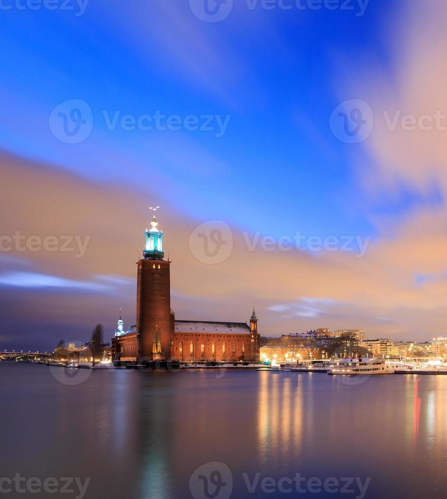 Stockholmer Rathaus Schweden foto