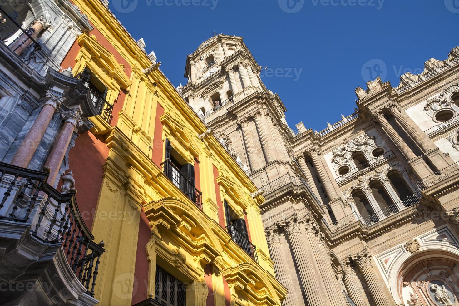 Kathedrale von Malaga foto