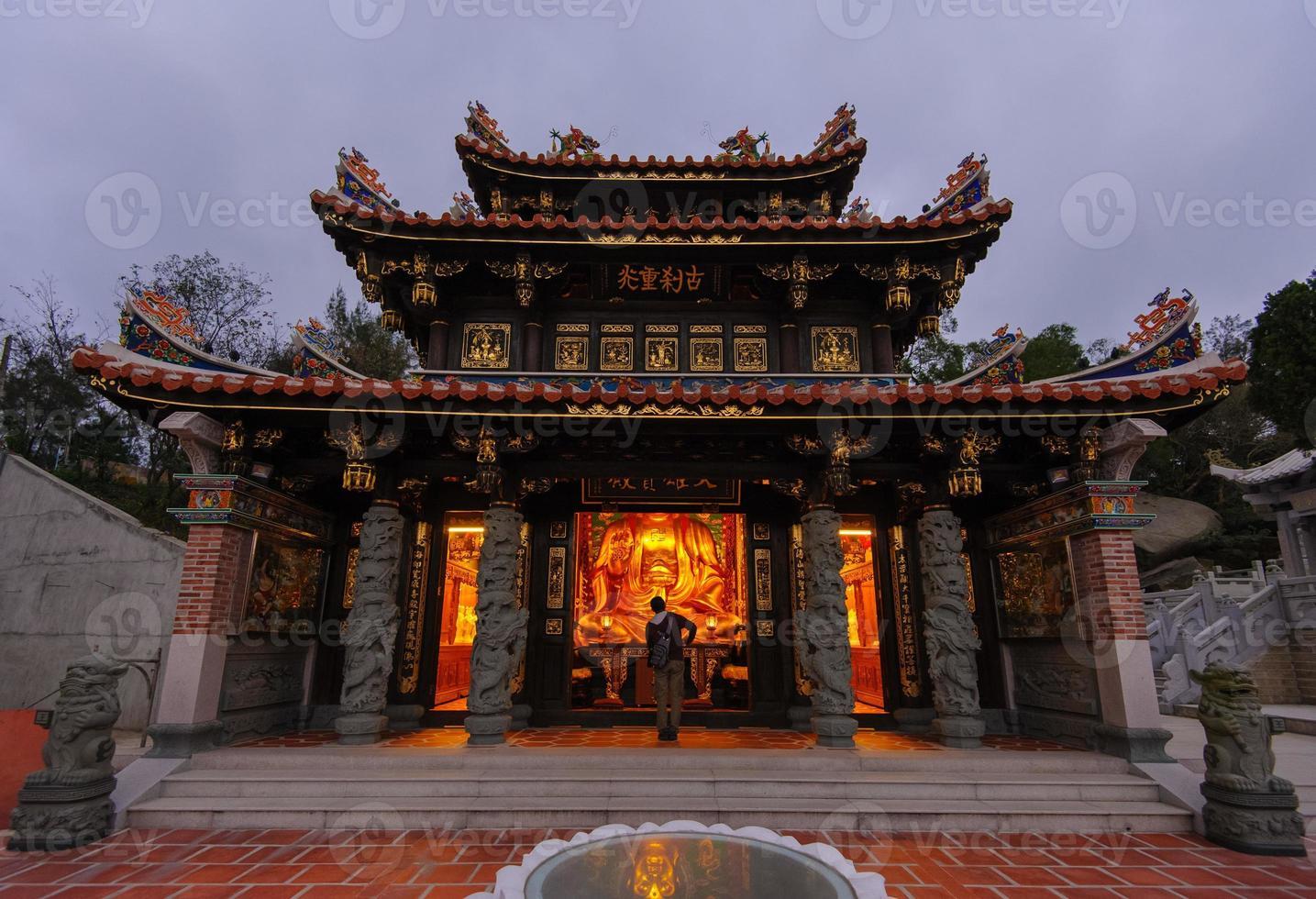 traditioneller chinesischer Tempel foto