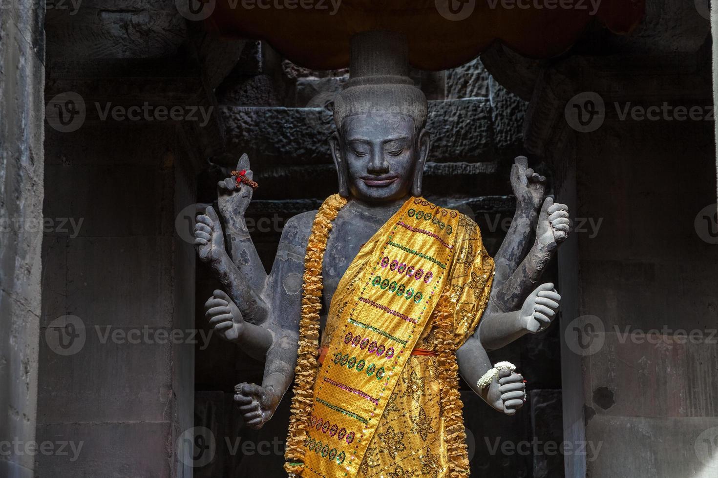 verehrter Vishnu foto