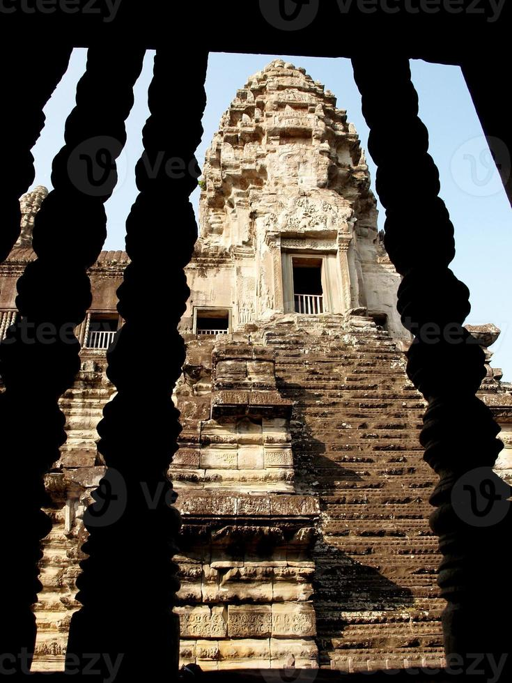 ankor wat und thom, siem ernten, kambodscha foto