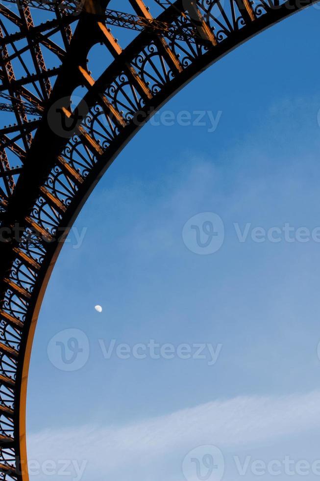 Detail vom Eiffelturm foto