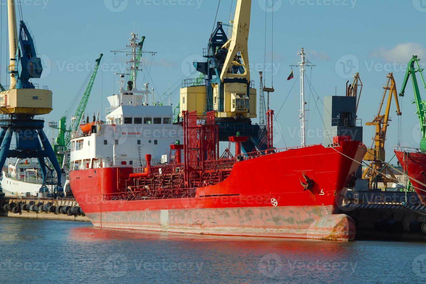Industriedock foto