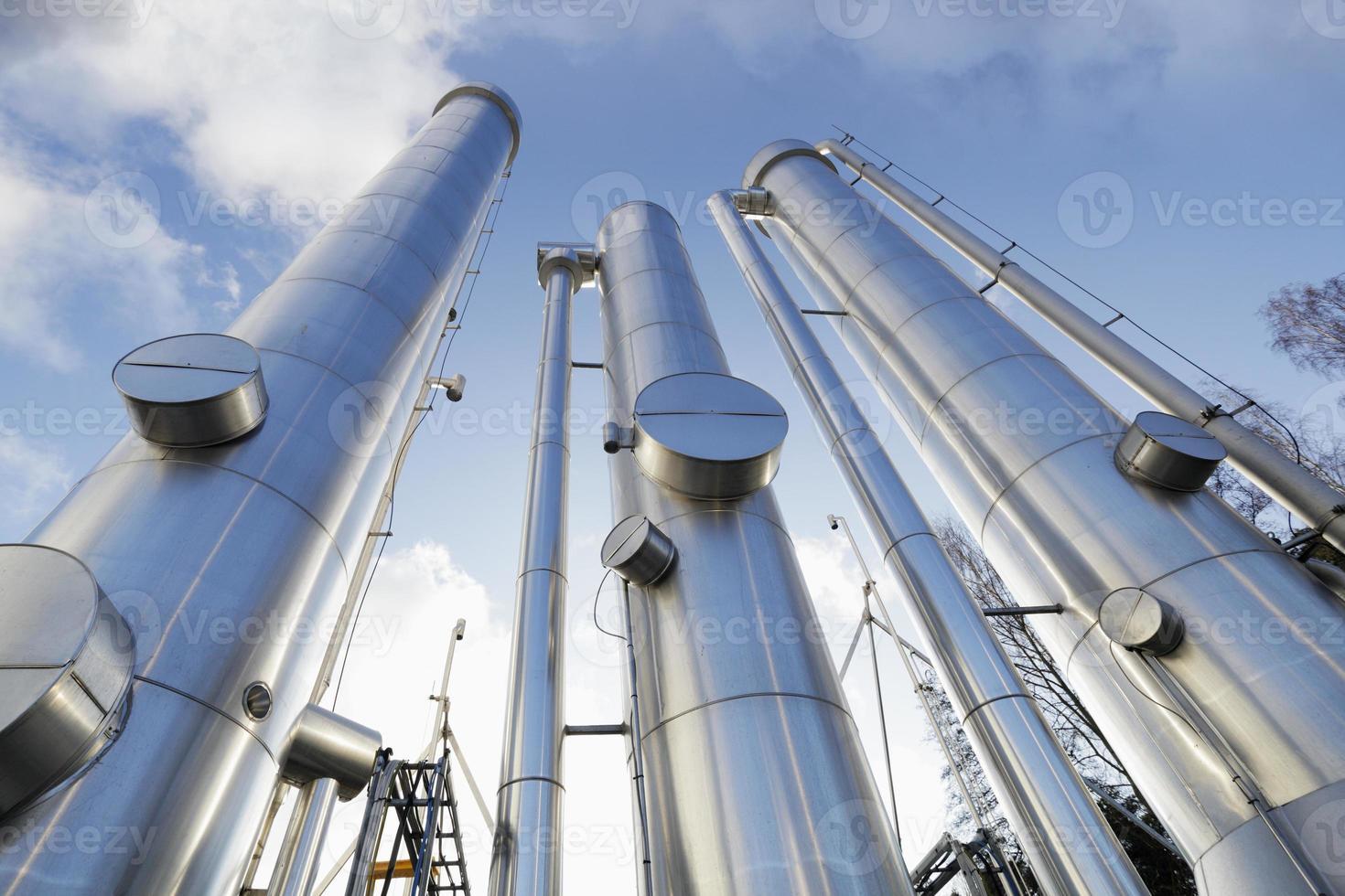 Gasleitungen, Rohrleitungen foto