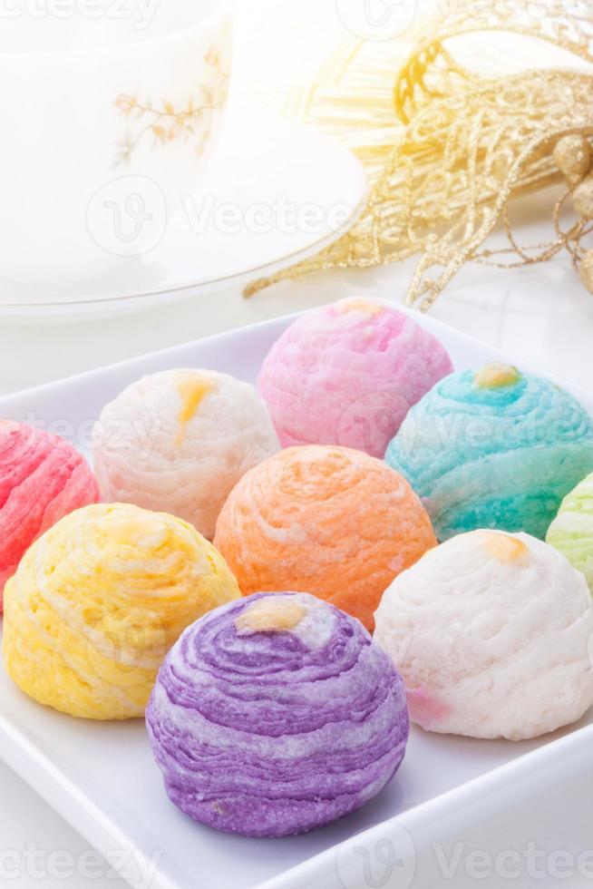 Regenbogenkuchen foto