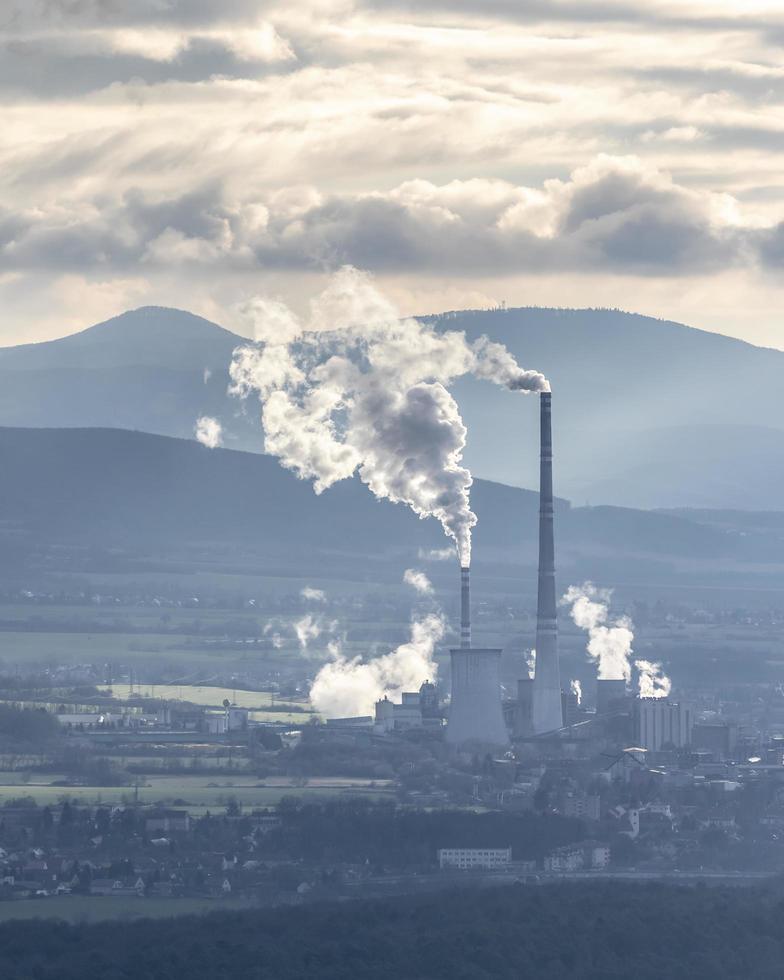 Fabrik in der Slowakei foto