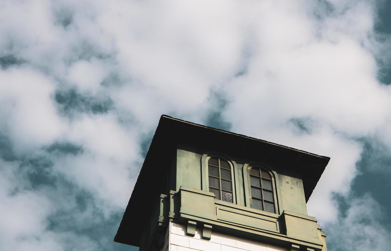 eine Gebäudekuppel foto