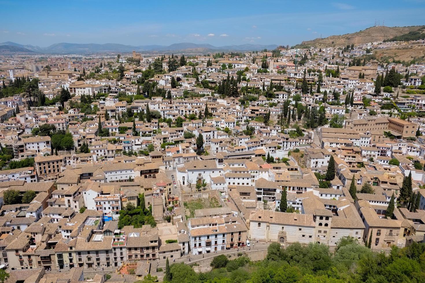 Albayzin Gemeinde in Granada, Spanien foto