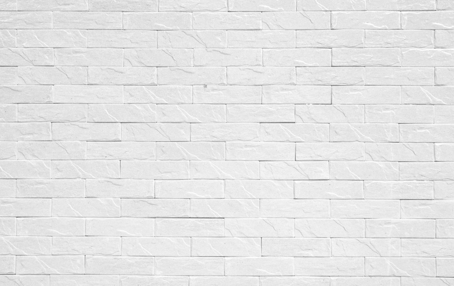 weiße Backsteinmauer für Hintergrund foto