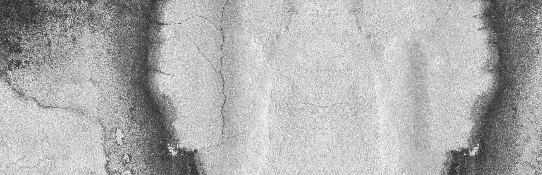 weiße Betonputzwände foto