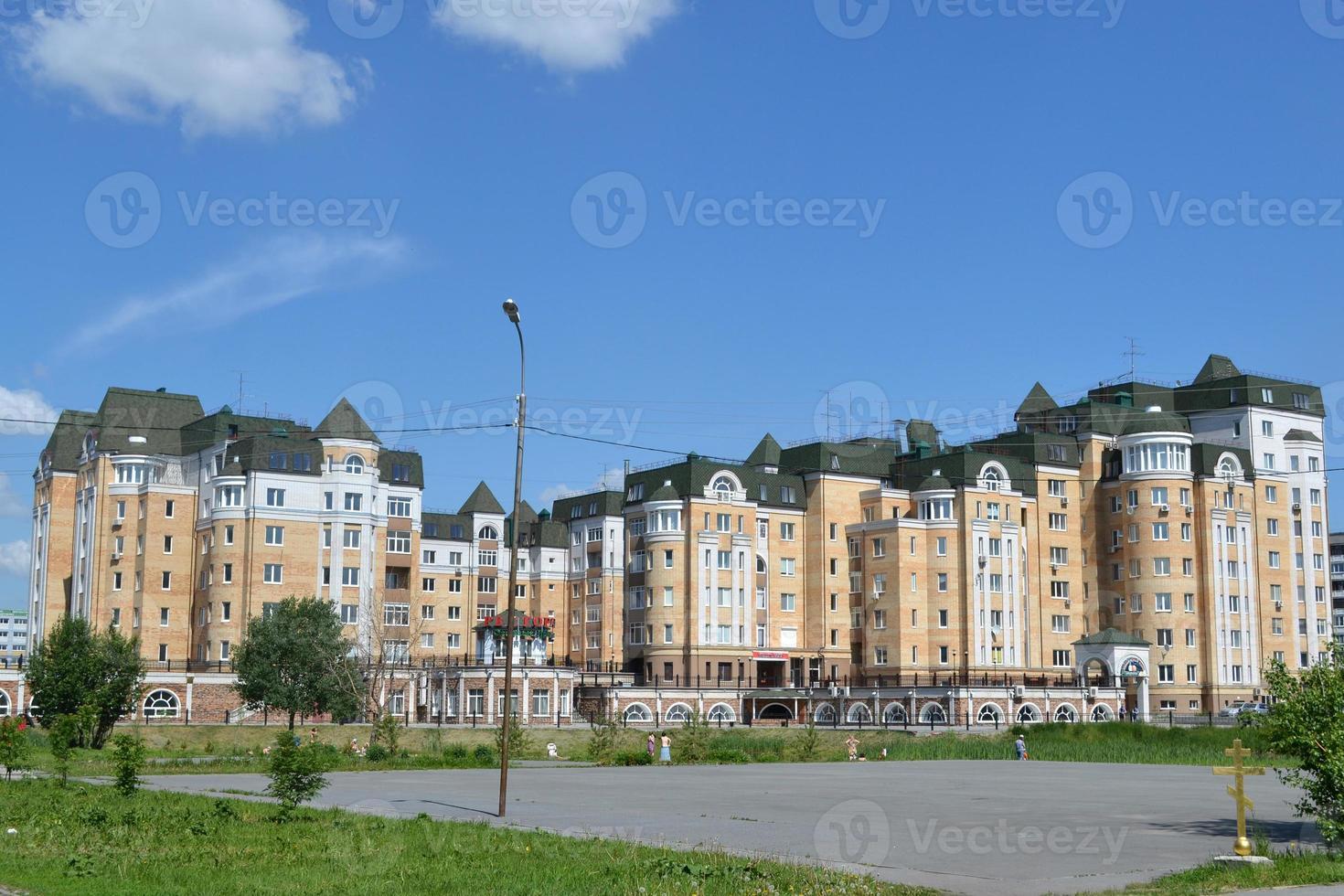 Wohnsiedlung nach Tyumen foto