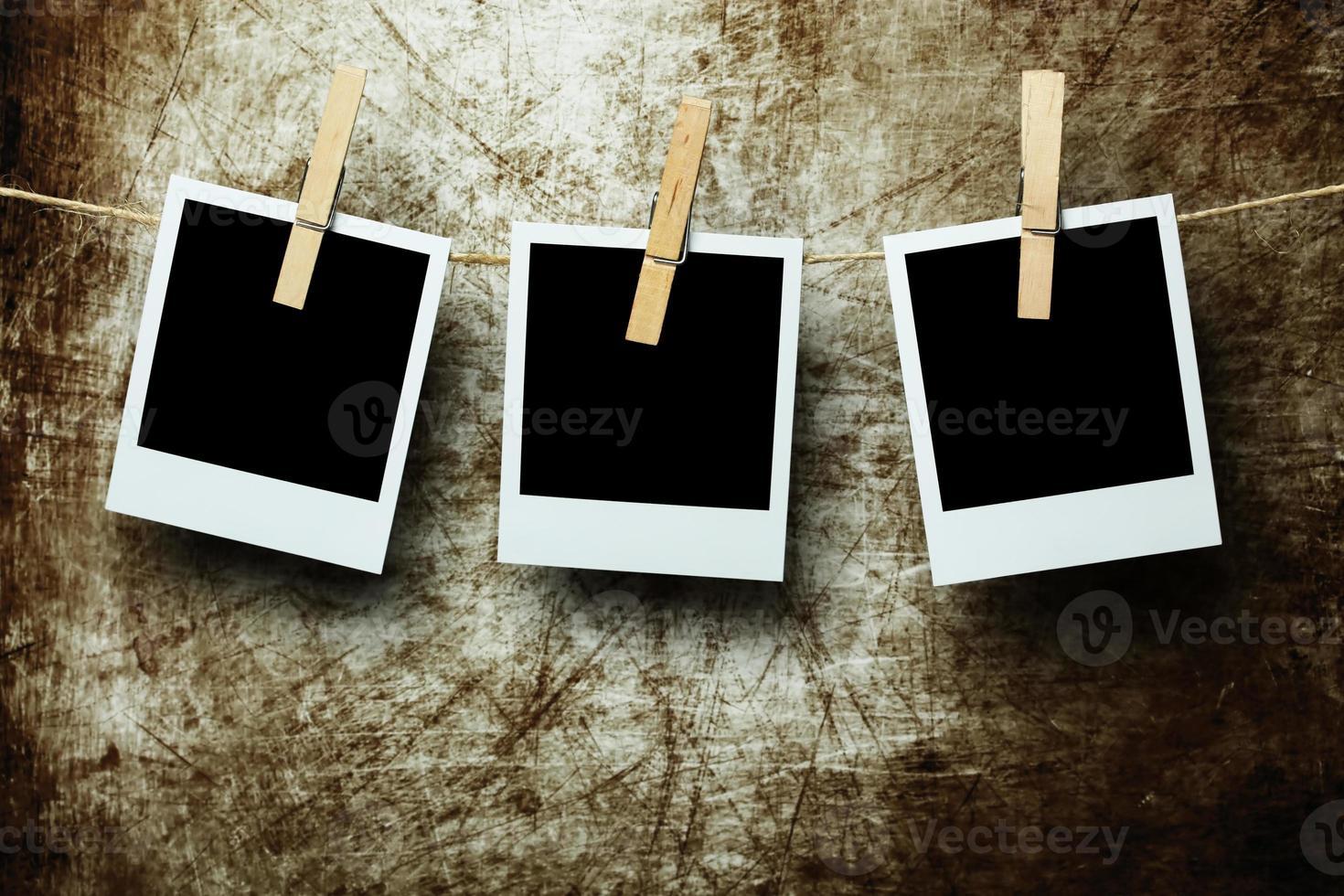 hängende Fotos