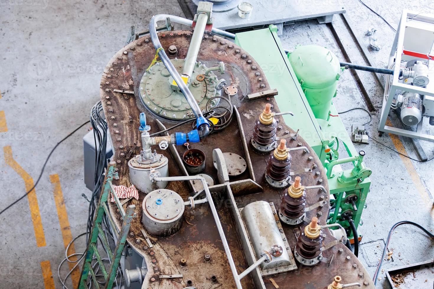 Hochspannungstransformator foto