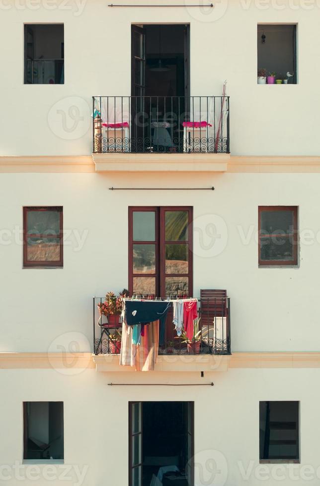 Fassade in Ibiza foto