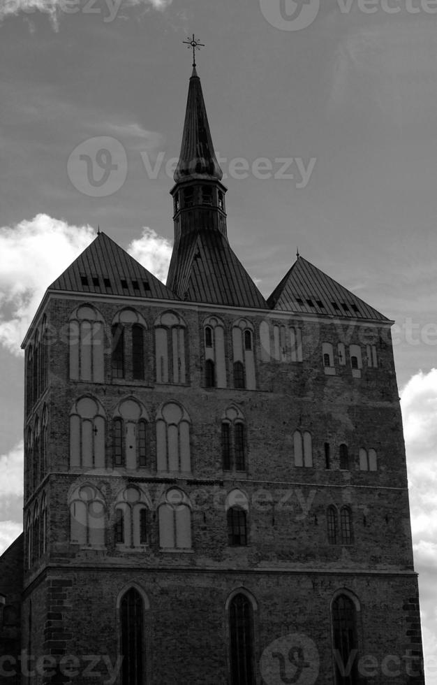 Fassade der gotischen Kathedrale foto