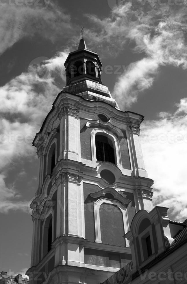 Turm der Barockkirche foto