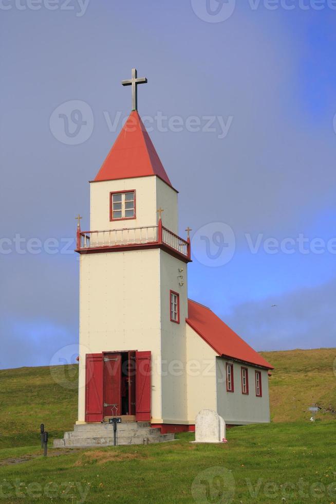 Kirche in Grimsey foto