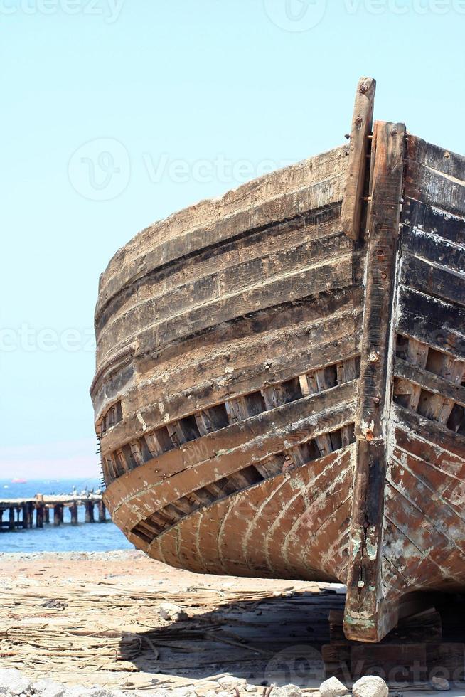 Schiffbruch im Sand (vorne) foto