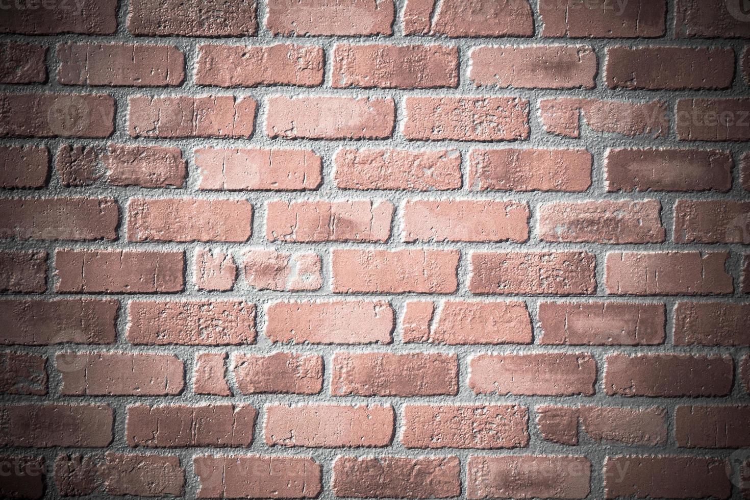 alte Backsteinmauer Textur foto