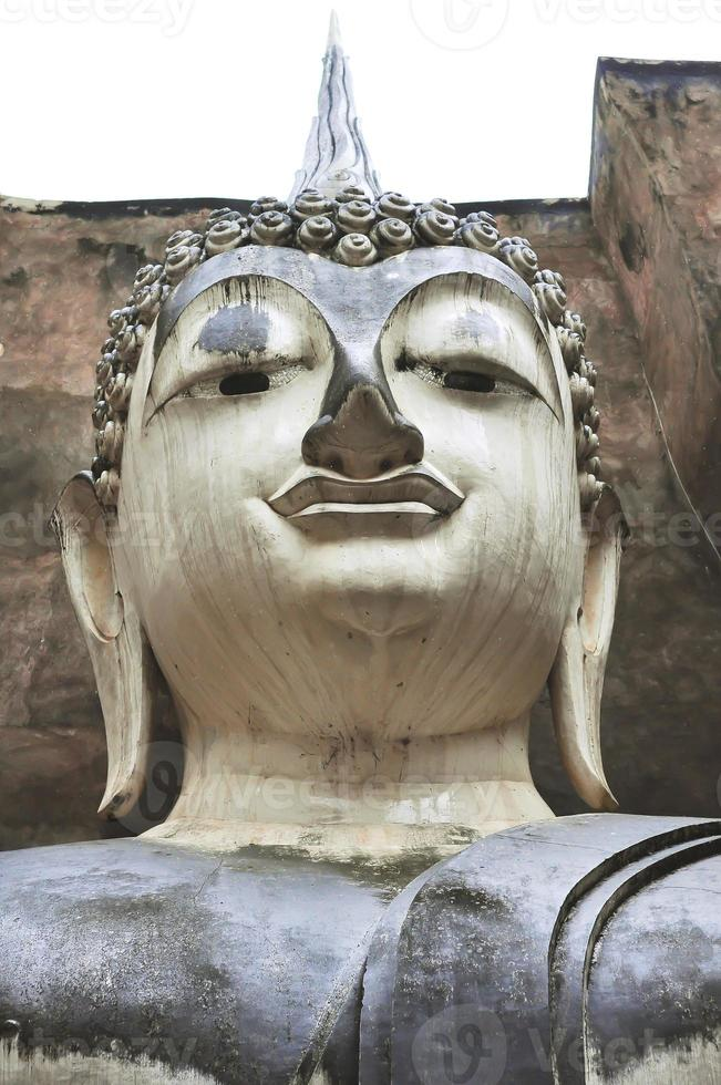 Gesicht der Buddha-Statue foto