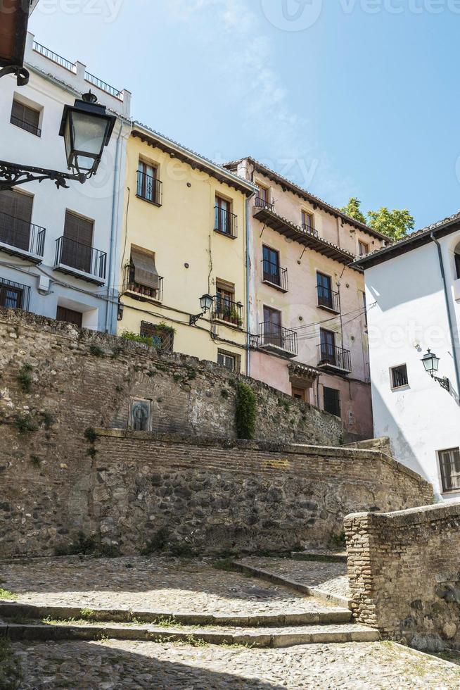 Altstadt von Granada, Spanien foto