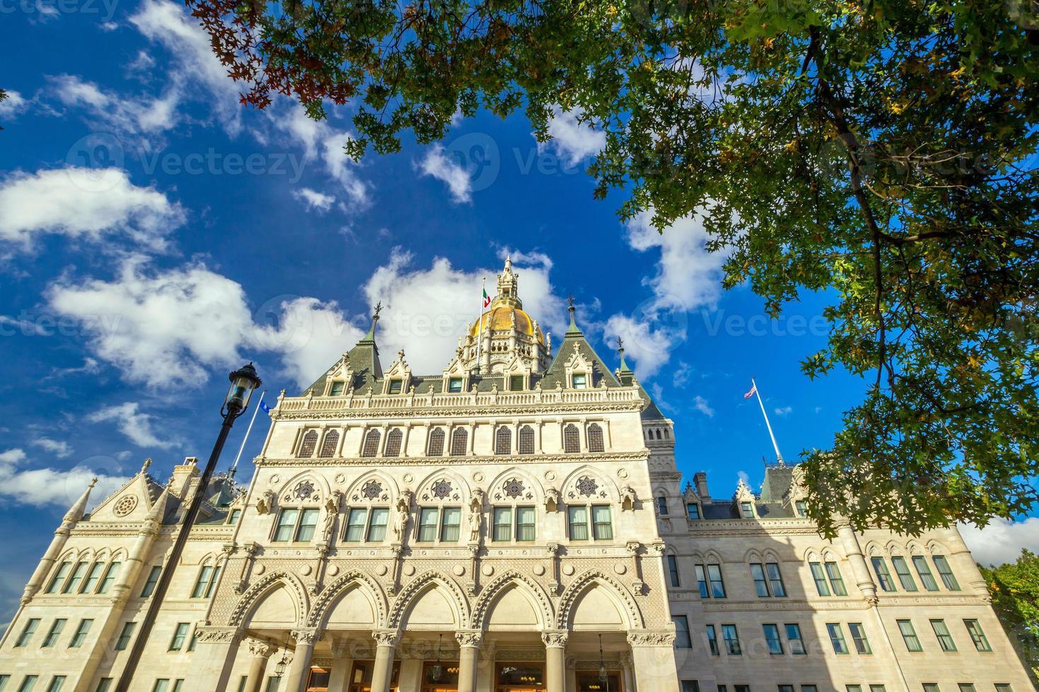 Connecticut State Capitol in Hartford, Connecticut foto