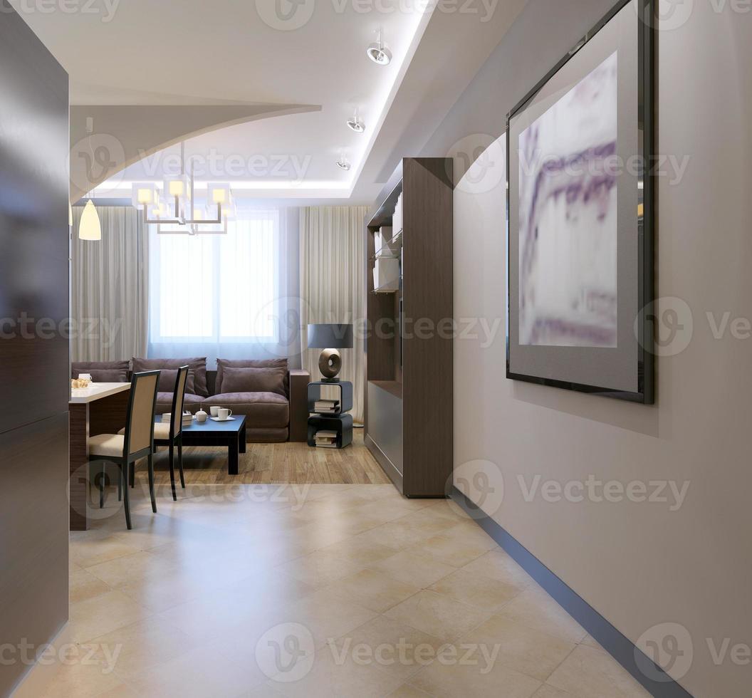 Eingang zum Küchenstudio foto
