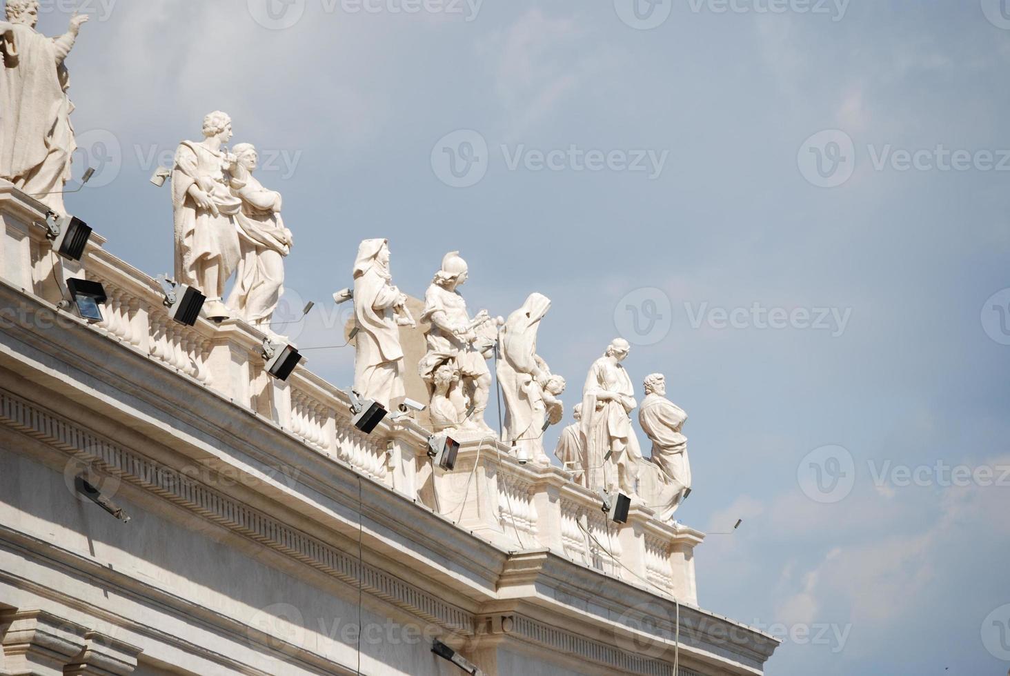 st. peter's basilica, st. Peterplatz, Vatikanstadt foto