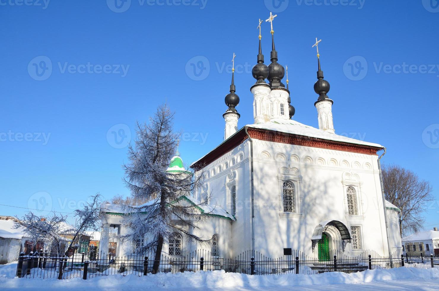 russische Kirche im Jahre 1707 erbaut foto